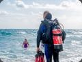 Safety diver with CocaCola gas tank, Fuengirola - Rich PhotoVideo